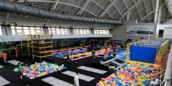 Xiamen's first indoor trampoline park
