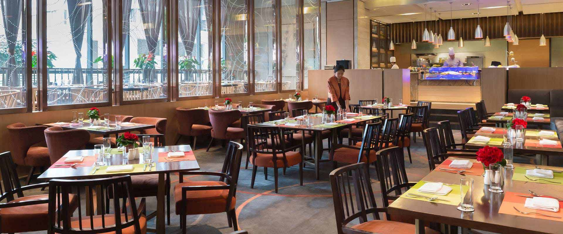 Caf marco restaurants bars marco polo parkside beijing for Cloud kitchen beijing