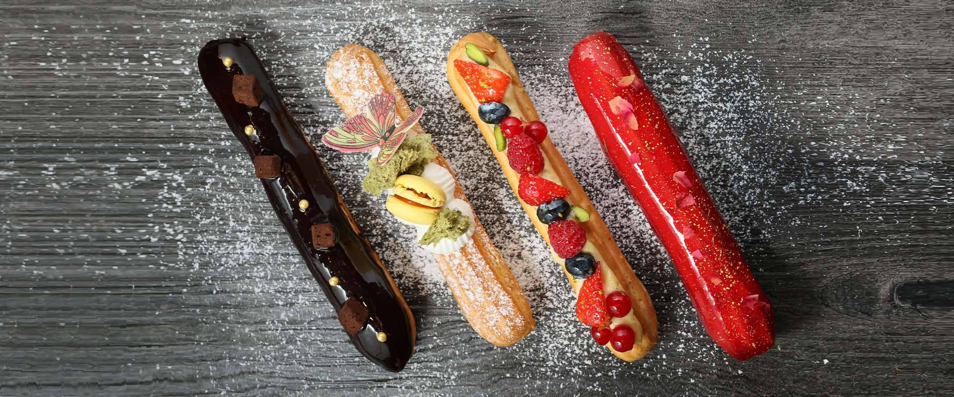 Three on Canton Presents Éclair with Flair