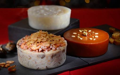 Exquisite Chinese New Year Puddings