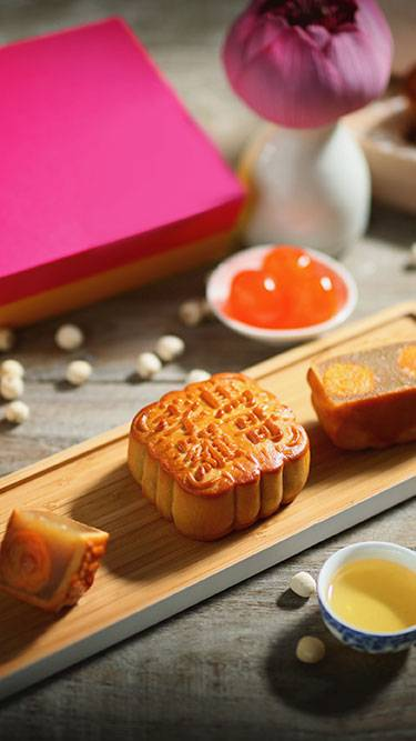 'Moonlight in the Enchanted Garden' Mooncake Gift Boxes