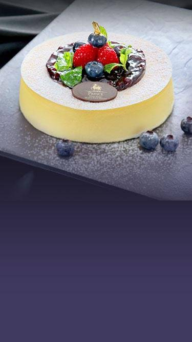 Signature Blueberry Cheesecake