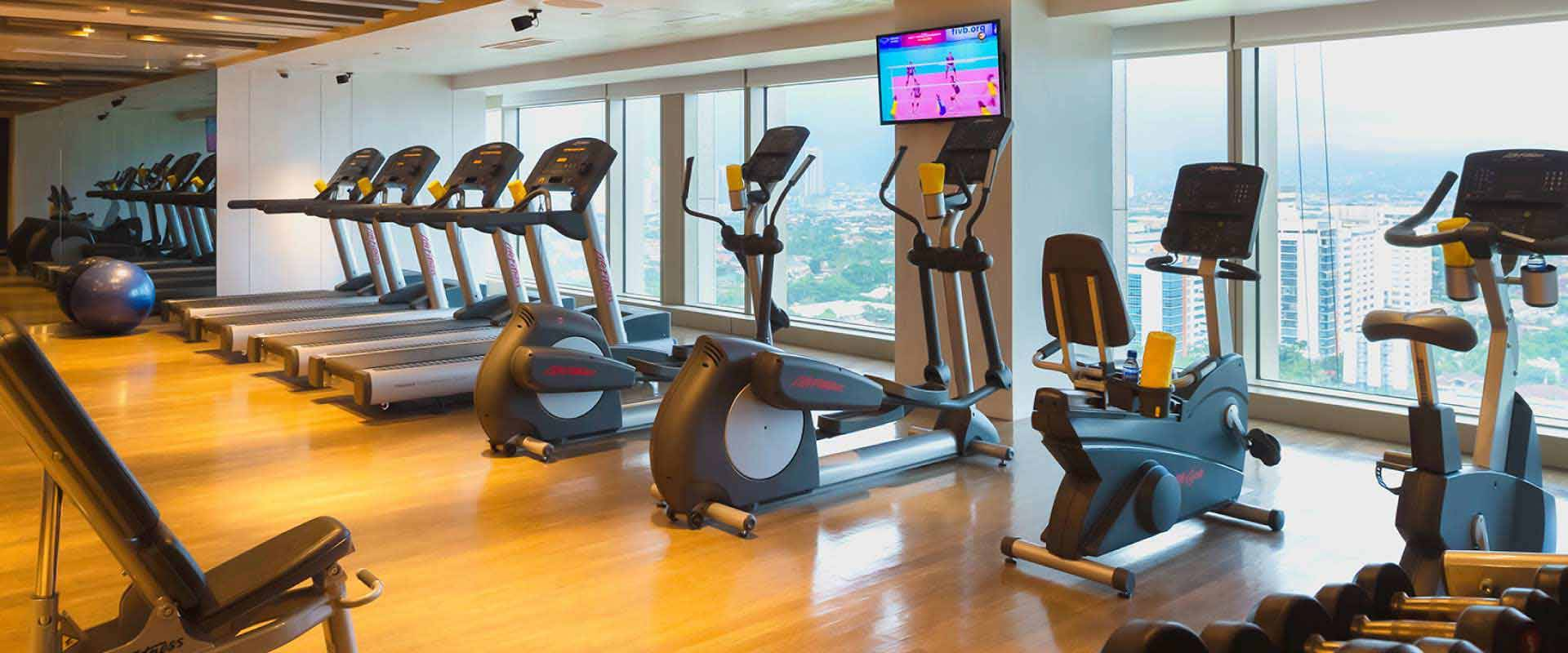Fully-equipped fitness facilities