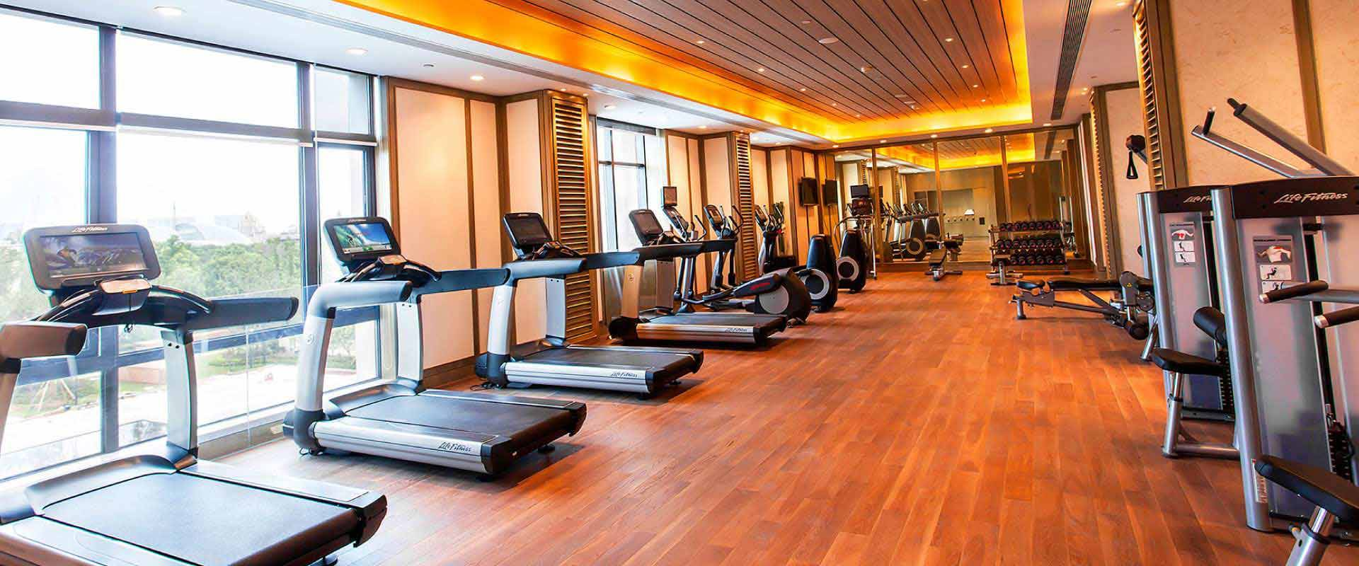 Gym And Wellness Centre Facilities Marco Polo Changzhou