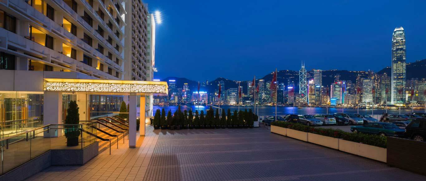 Spectacular Victoria Harbour views