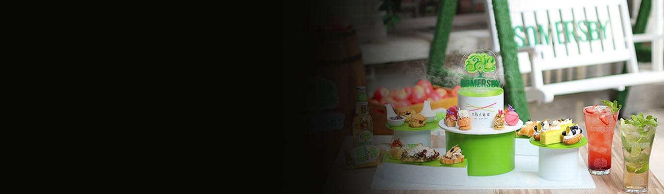 港威酒店 Three on Canton呈献<br>甜「SOM」苹果庭园下午茶